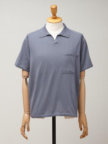 ショートスリーブニットポロシャツ