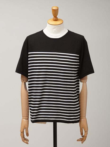 ボーダーニットTシャツ