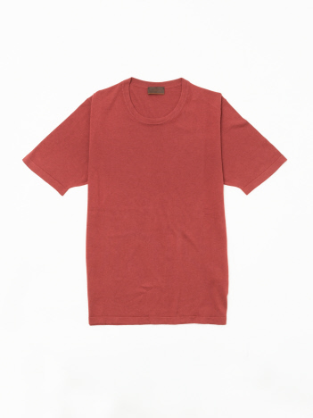 DESIGNWORKS (MEN'S) - 【ALTEA】シルクコットン クルーネックニットTシャツ
