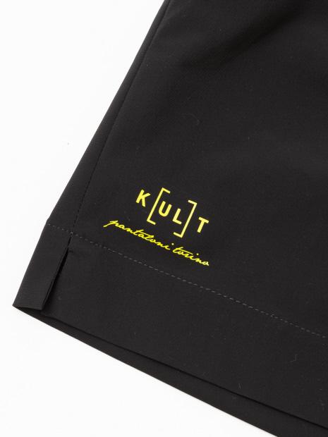 【PT01/KULT】 ショートパンツ BLACK