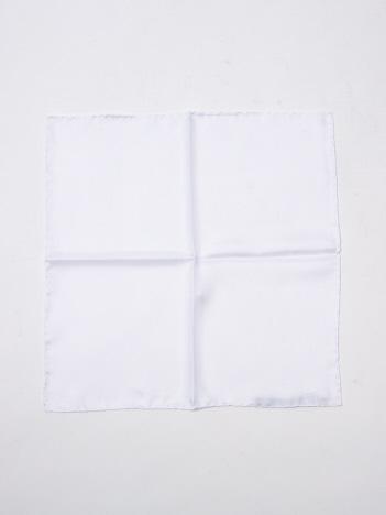 ATELIER F&B ポケットチーフ ホワイト