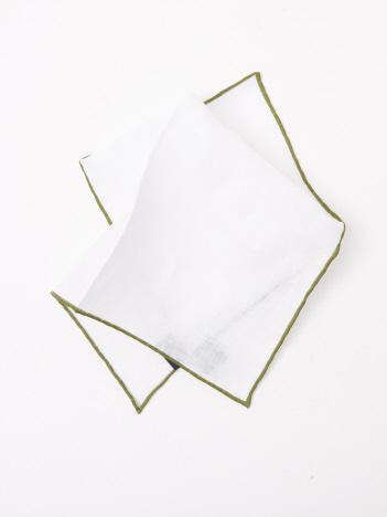 【FRANCO BASSI】ホワイト×グリーン
