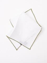 DESIGNWORKS (MEN'S) - 【FRANCO BASSI】ホワイト×グリーン