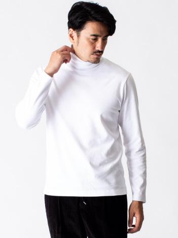 DESIGNWORKS (MEN'S) - スムースタートルネック 長袖Tシャツ