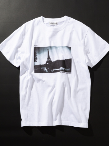 DESIGNWORKS (MEN'S) - Paris Tour Eiffel Tシャツ