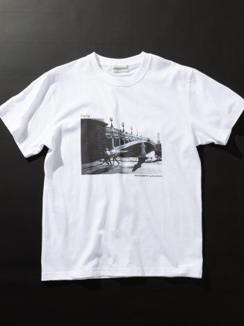 DESIGNWORKS (MEN'S) - Paris Pont Alexandre3 Tシャツ