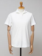DESIGNWORKS (MEN'S) - 【追加】ミニパイル スキッパーポロシャツ