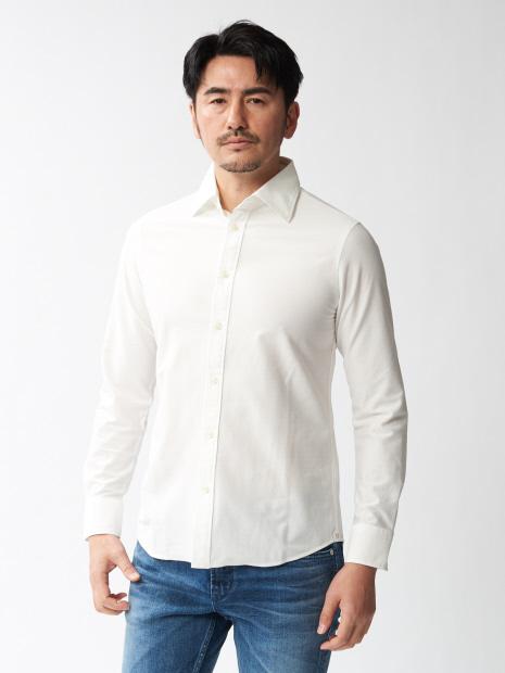 デニムシャンブレーシャツ