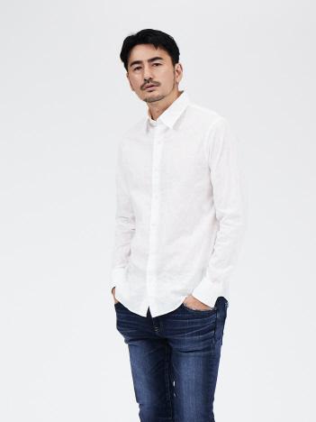 DESIGNWORKS (MEN'S) - ローン刺繍オーバーダイシャツ