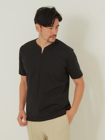 DESIGNWORKS (MEN'S) - ファイバーポンチ ファスナーTシャツ