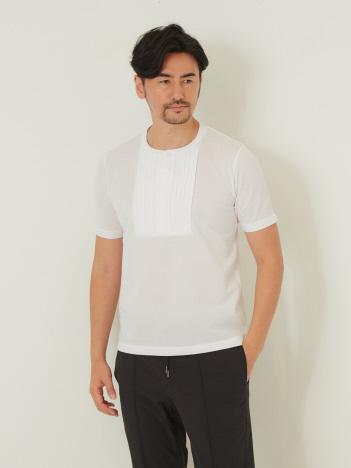 DESIGNWORKS (MEN'S) - アルティマカノコ ブザム 半袖ヘンリーTシャツ