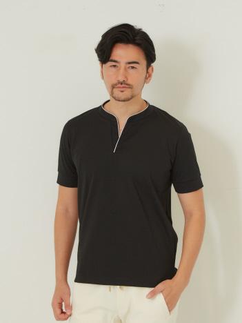 DESIGNWORKS (MEN'S) - ファイバーポンチパイピング Tシャツ