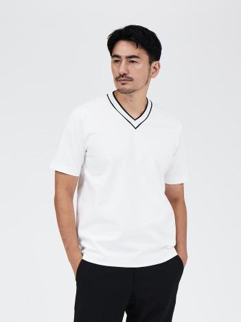 DESIGNWORKS (MEN'S) - プレミアムファイバーポンチ チルデンTシャツ