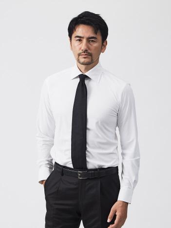 トリコットミクロミクロビエントバックハーフシャツ