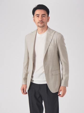 DESIGNWORKS (MEN'S) - CANONICOパナマ ドレスジャケット