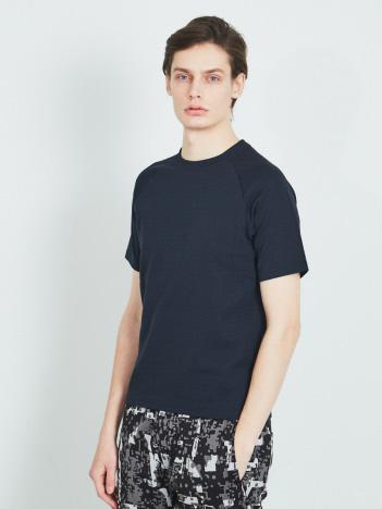 DESIGNWORKS (MEN'S) - シャイニーリップル ラグランTシャツ
