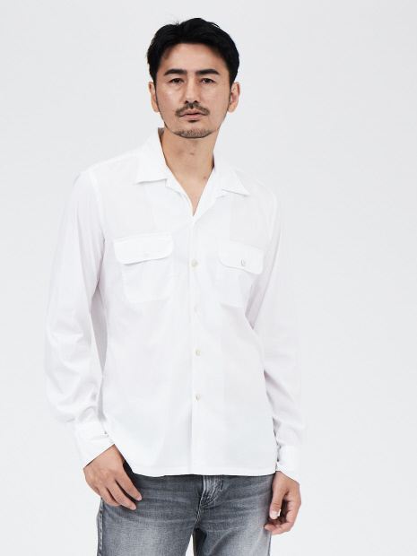 Finamore EXCLUSIVE ホワイトシャツ