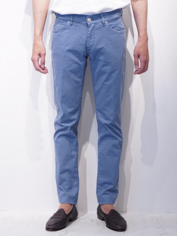 DESIGNWORKS (MEN'S) - PT05(P) SWING/TU64 カラーパンツ ブルー/ネイビー