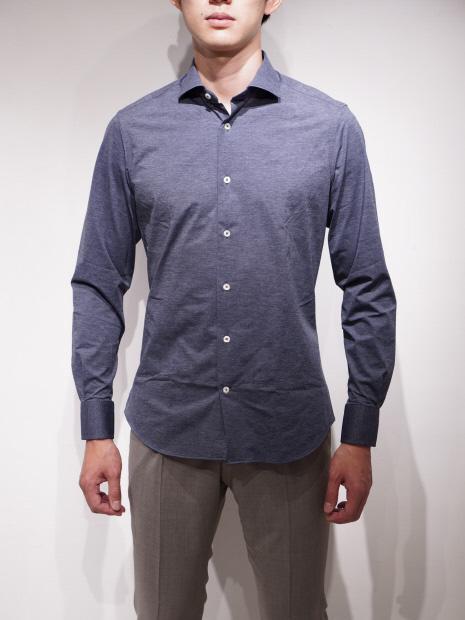 TRAIANO TS13 T836 メランジシャツ