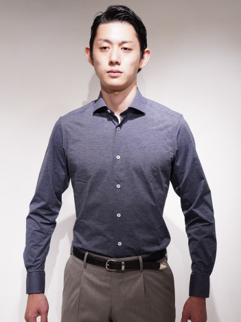 DESIGNWORKS (MEN'S) - TRAIANO TS13 T836 メランジシャツ