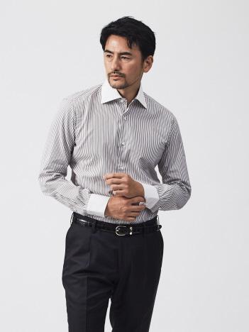 DESIGNWORKS (MEN'S) - BARBA MILANO/U07231 クレリックシャツ