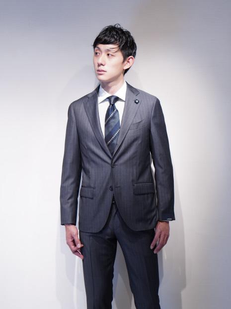 LARDINI JR0823AQ/C54402 セットアップ スーツ