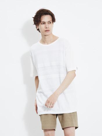 DESIGNWORKS (MEN'S) - 【G-STAGE】301509ニット切替Tシャツ