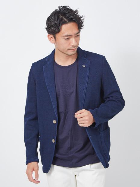 【G-STAGE】300204 インディゴデニムジャージジャケット