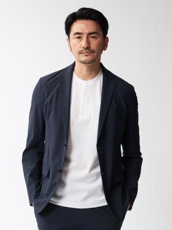 【セットアップ対応】メリルナイロン ハイテンション ジャケット