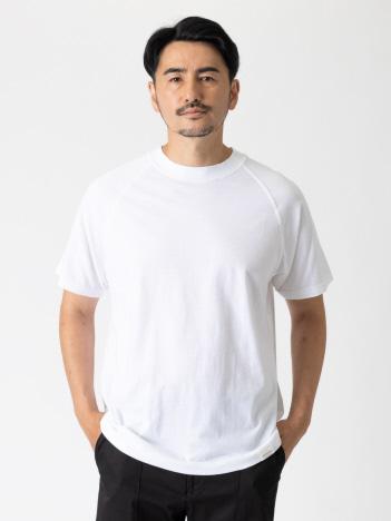 【別注】upper hights / アッパーハイツ ラグランスリーブ 半袖 Tシャツ