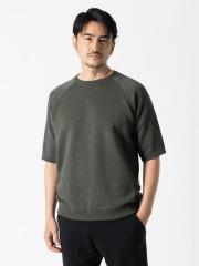 【別注】Vandori / ヴァンドリ リネンラグラン ニットTシャツ