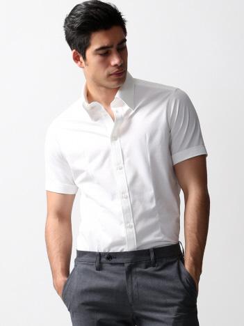 コンパクトクールマックスハニカムシャツ