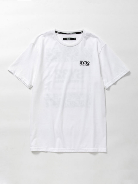 【SY32 by SWEET YEARS】10242ニューロゴ Tシャツ