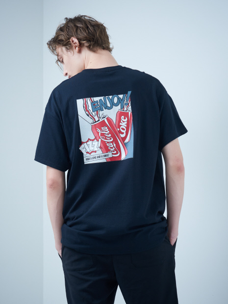 【SY32】101169 SY32 × COCA-COLA コラボレーション Tシャツ