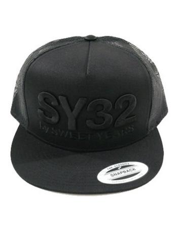 AT-SCELTA Select (MEN'S) - 【SY32】10044 3D ロゴ スナップバック メッシュキャップ