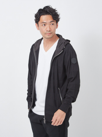 AT-SCELTA Select (MEN'S) - 【G-STAGE】301502 ボーダーパーカーブルゾン