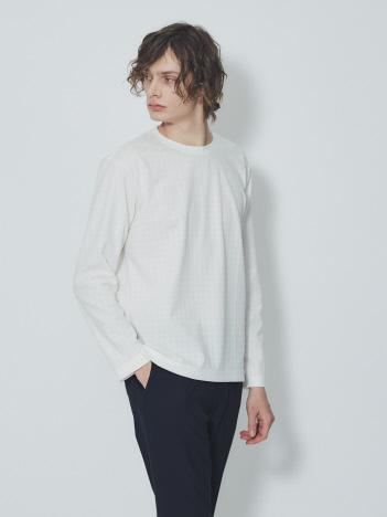 【G-STAGE】301511 ストレッチジャガードロングスリーブTシャツ