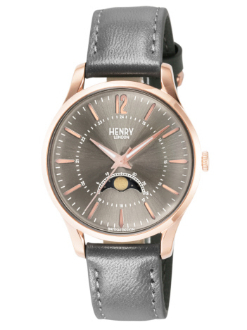 AT-SCELTA Select (MEN'S) - ヘンリーロンドン HENRY LONDON フィンチリー 34mm ムーンフェイズ 腕時計 HL34-LS-0424