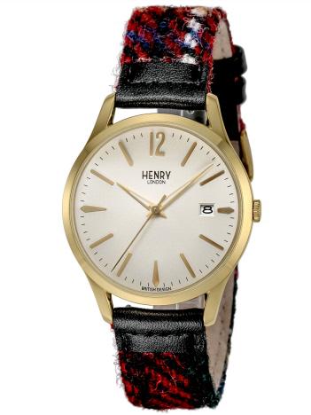 AT-SCELTA Select (MEN'S) - 【ハリスツイードコラボ】ヘンリーロンドン HENRY LONDON  腕時計 HARRIS TWEED COLLABORATION 替ベルト付 HL39-S-0430