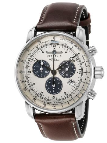 AT-SCELTA Select (MEN'S) - 【ZEPPELIN】ツェッペリン 100周年記念シリーズ クロノグラフ 腕時計 時計 ウォッチ 7686-5 メンズ
