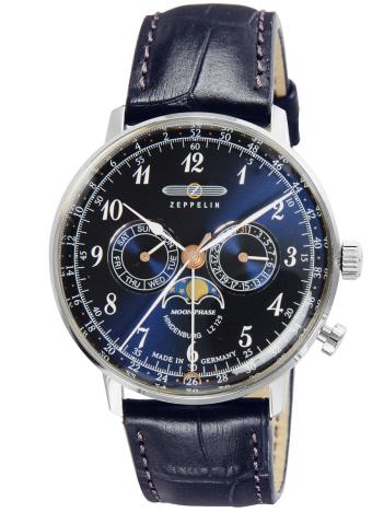 AT-SCELTA Select (MEN'S) - 【ZEPPELIN】ツェッペリン ヒンデンブルグ 腕時計 時計 ウォッチ ムーンフェイズ 70363 メンズ