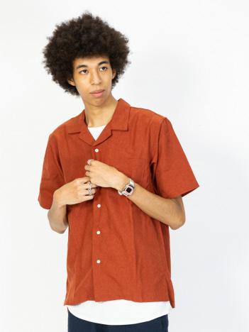 AT-SCELTA Select (MEN'S) - 【ATELANE】20A-15002 トロピカル オープンカラーシャツ 半袖 シャツ