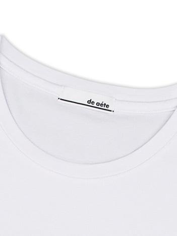 【de aete】DA-S02-0714 デアエテ オーセンティックフィットUネックTシャツ(Starバージョン)