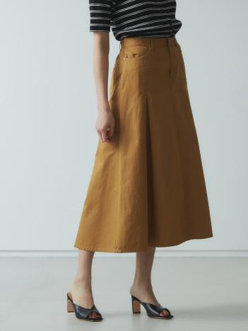 AT-SCELTA Select (Ladie's) - 【Mylanka】ライトツイルフレアスカート