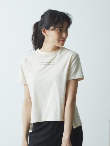 AT-SCELTA Select (Ladie's) - 【BRAHMIN】ニュアンスカラーロゴTシャツ