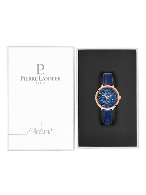 【PIERRE LANNIER】クリスタル レザーベルト P105J・P107J