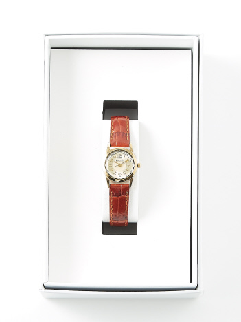 AT-SCELTA Select (Ladie's) - 【PIERRE LANNIER】ルミエールレザーウォッチ ゴールド P867500