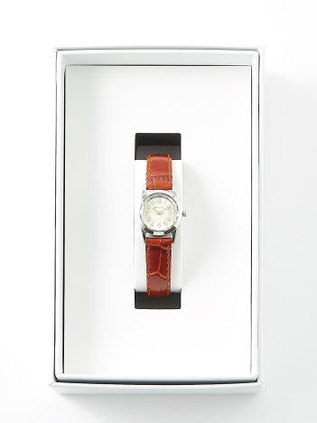 AT-SCELTA Select (Ladie's) - 【PIERRE LANNIER】ルミエールレザーウォッチ シルバー P867600
