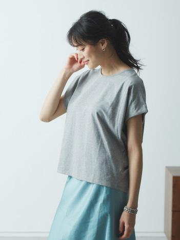 【JILKY】変形切り替えドルマンTシャツ