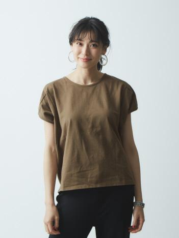 AT-SCELTA Select (Ladie's) - 【JILKY】変形切り替えドルマンTシャツ【予約】